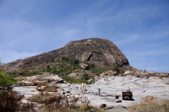 Kabbaldurga  hills near banglore